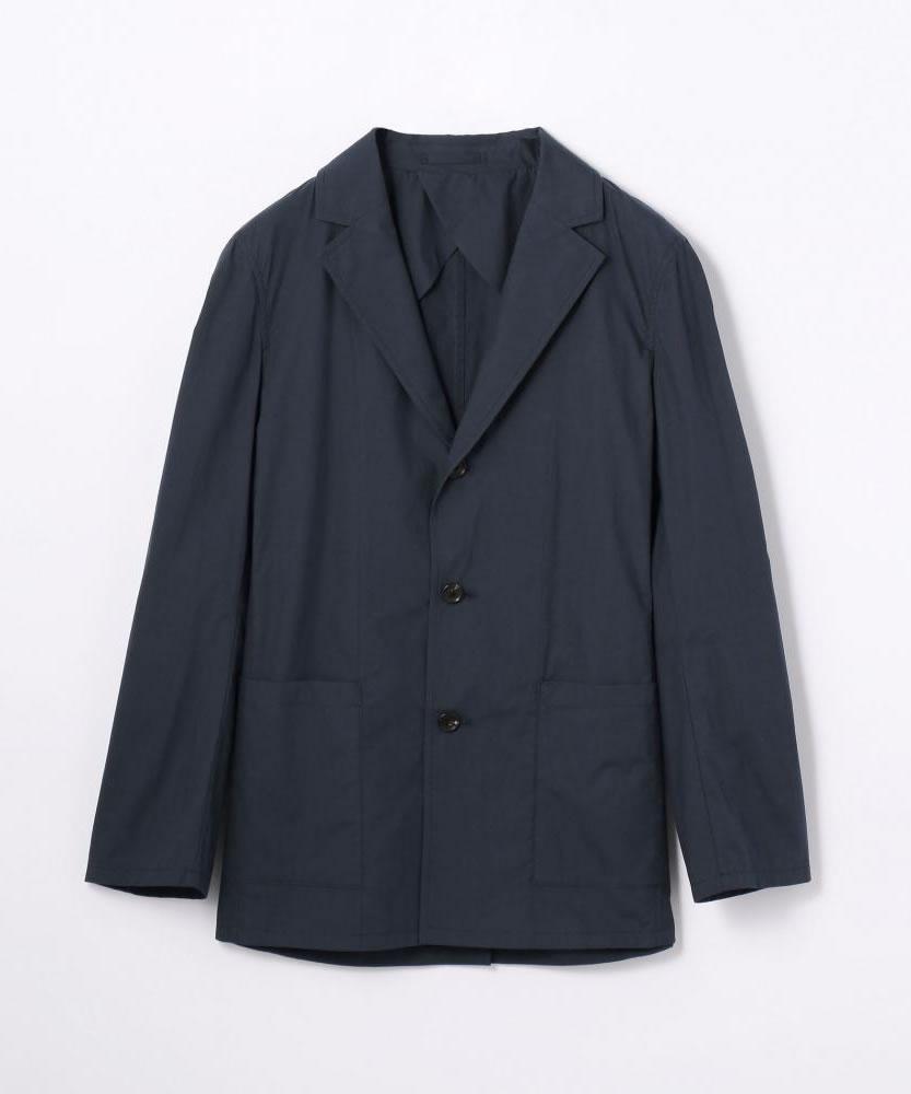 コットンポプリン テーラードジャケット