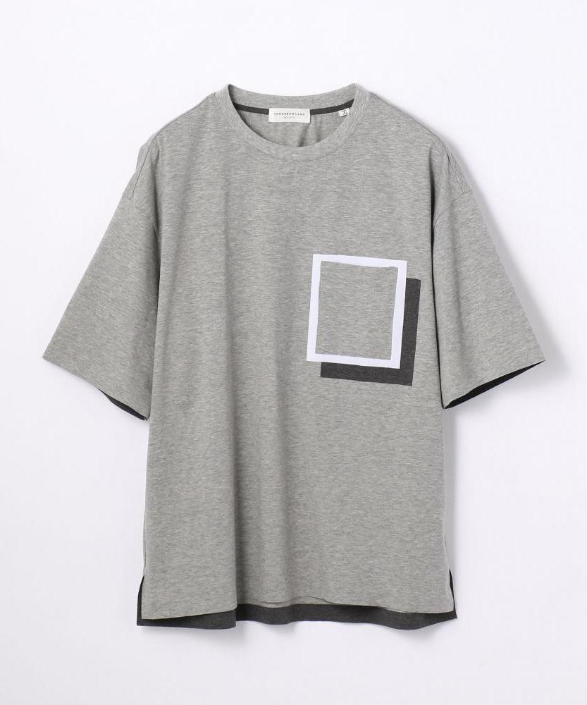 ストレッチジャージー ポケットTシャツ