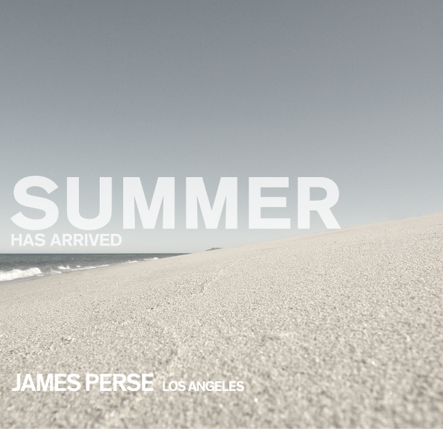 JAMES PERSE 2017 SUMMER