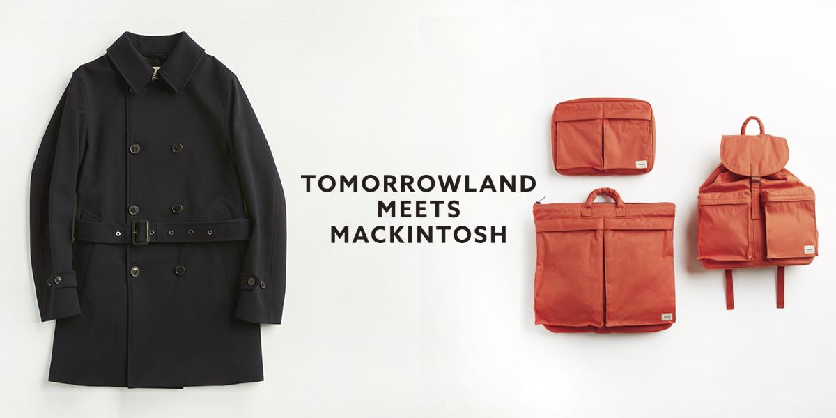 TOMORROWLAND MEETS MACKINTOSH