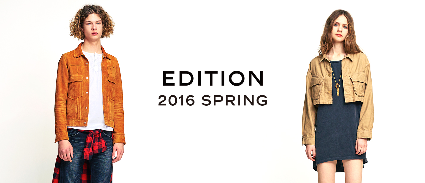 EDITION LOOK BOOK 2016 SPRING