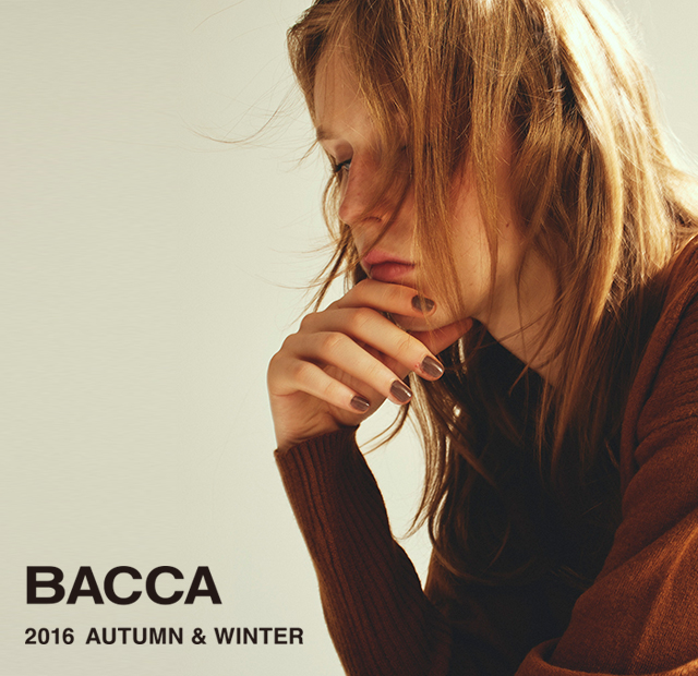 BACCA LOOKBOOK 2016 AUTUMN&WINTER