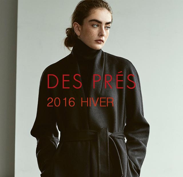 DES PRÉS 2016 HIVER Catalogue