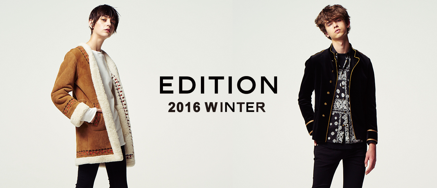 EDITION 2016 WINTER LOOK BOOK