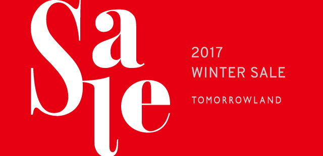 【2017 WINTER SALE】