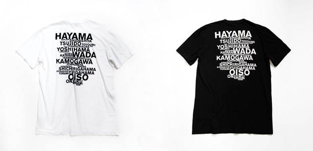【JAMES PERSE JAPAN BEACH GRAPHIC TEE】